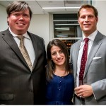 David V. Griffin, Landmark Branding LLC; Jennifer Wallace, nAscent Art New York; and host Brian Feil, The Feil Organization