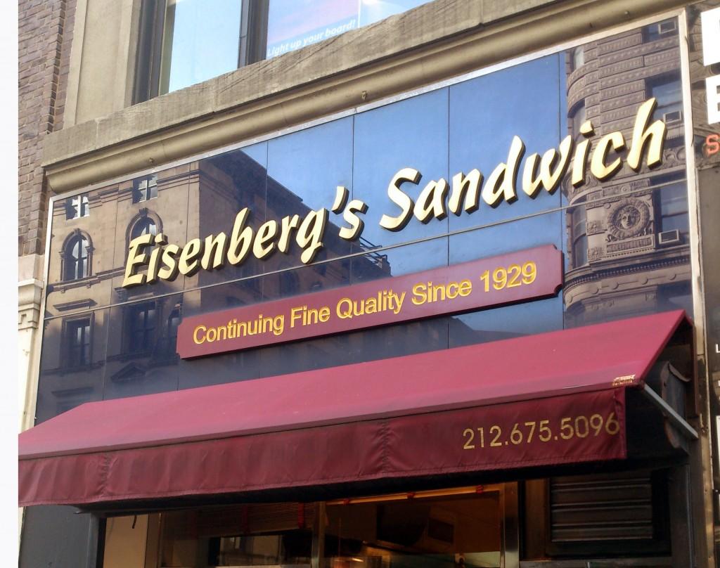 174 Fifth Avenue, Eisenberg's Sandwich Shop
