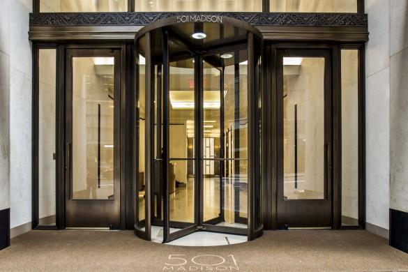 501 Madison entrance