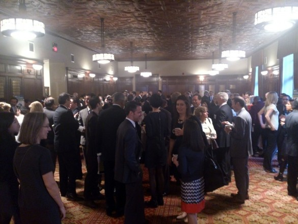 Crowds at Crain's 4th Annual Real Estate Conference