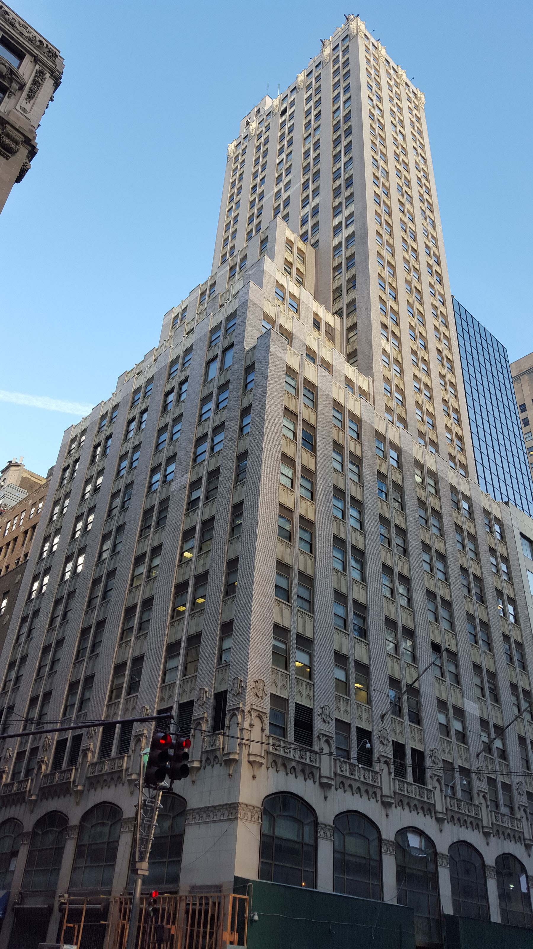 580 Fifth Avenue The World Diamond Building