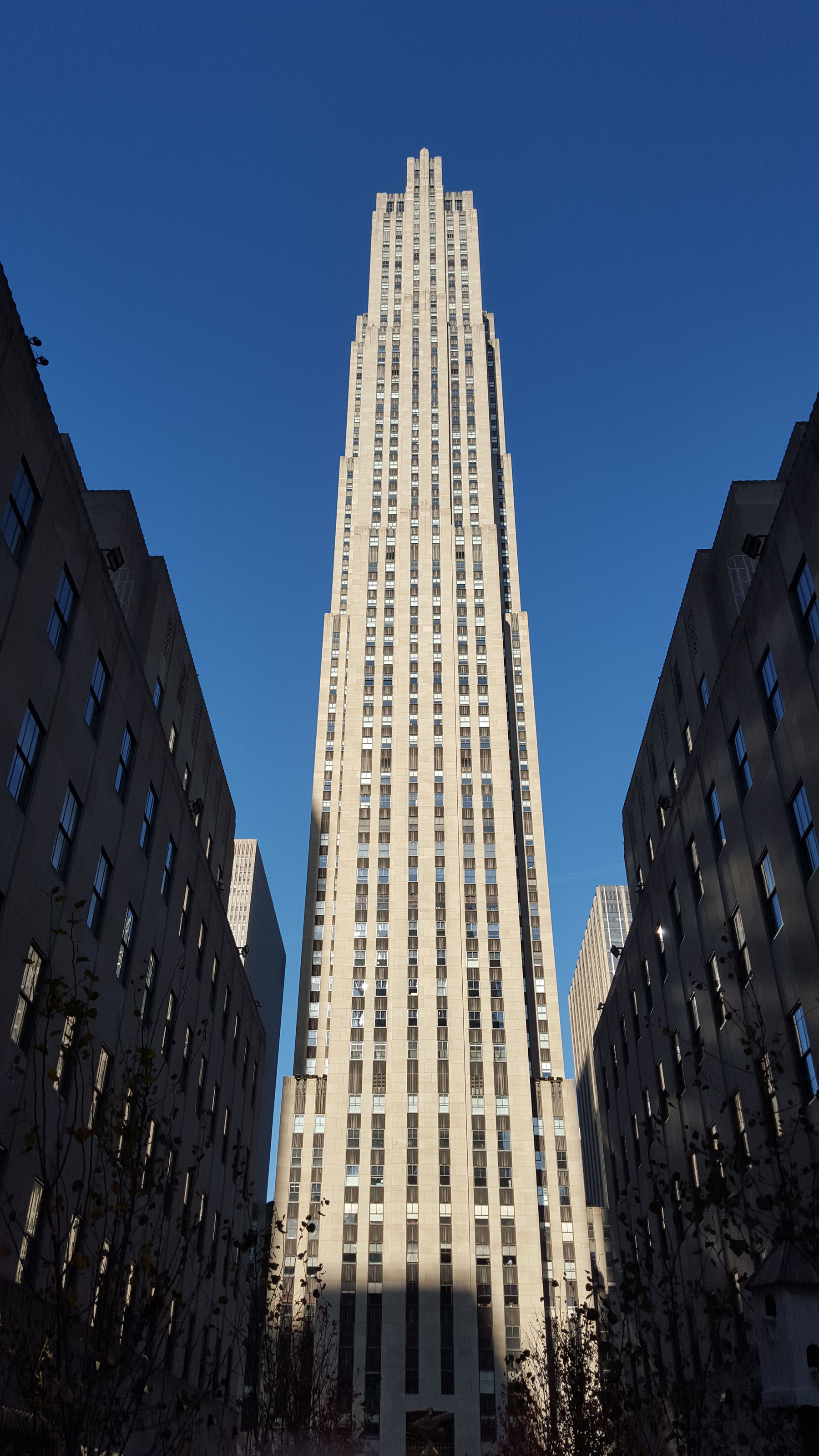 The GE Building at 30 Rockefeller Plaza