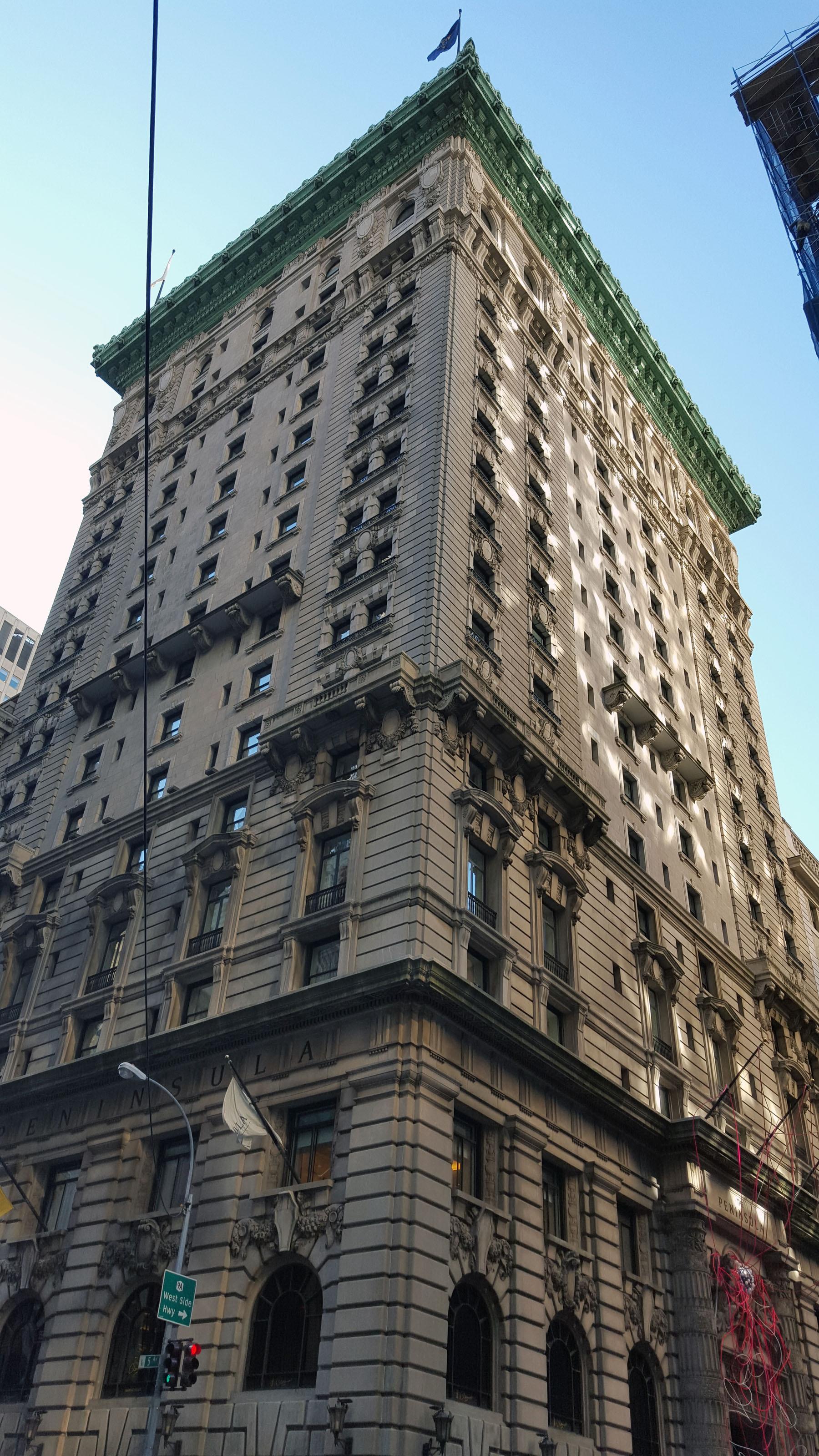 700 Fifth Avenue the Peninsula Hotel