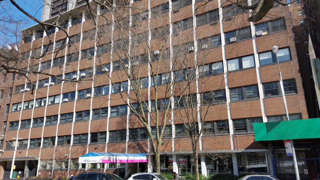 1176 Fifth Avenue Mt  Sinai Hospital's Klingenstien Pavilion