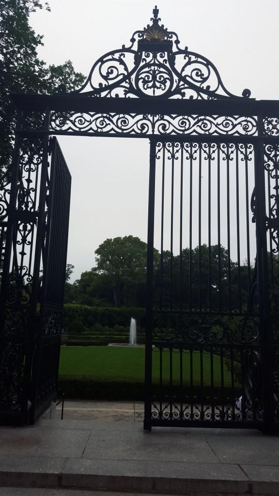 Conservatory Garden Gates